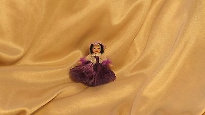 OOAK Miniature Tiny Girl Toy Doll Sculpt Dolls House Artist