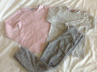 bundle job lot girls age 6 - 7  years jogers jogging bottoms top jeans jumper