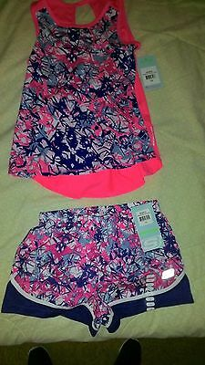 Skecher Activewear 2Pc. Outfit Girls Size 7/8