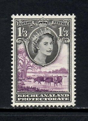 (Ref-10843) Bechuanaland 1955 QEII Pictorial Definitives 1s3d SG.150 Mint Hinged