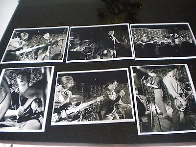 JOY DIVISION SIX B&W 8 x 10 inch 1979 CONCERT PHOTOGRAPHS FACTORY RECORDS