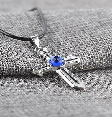 HOT  Fairy Tail Gray Fullbuster Cross Necklace Pendant Cosplay Unisex Toy Gift