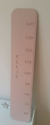 Wooden Height Chart Personalised