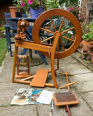 Ashford Spinning Wheel. Used and much loved. Good condition.