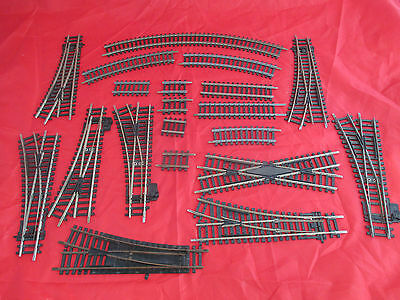 Bundle Of 00 Hornby Train Track With Lots Of Junctions