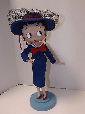 Betty Boop Franklin Mint Couture Doll Allure