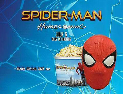 Spiderman Homecomming Movie 2017 Head Cup 32Oz. Theater Thailand