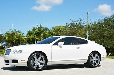 2005 Bentley Continental GT GT Coupe 2-Door 2005 CONTINENTAL GT - ONLY 16,000 ORIGINAL MILES - RARE COLORS - FLORIDA CAR