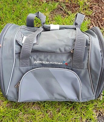 New ~ Sherpa American Airlines Dog Carrier Duffle Bag Pet Travel Vented Tote Med