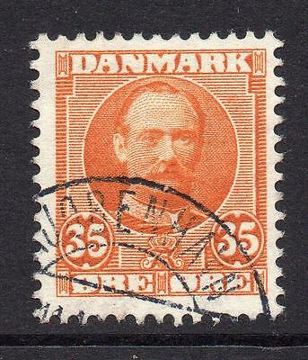 Denmark 35 Ore Stamp c1907-12 Used