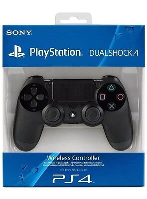 Official Sony Ps4 Dualshock 4 Wireless Controller - Black - New