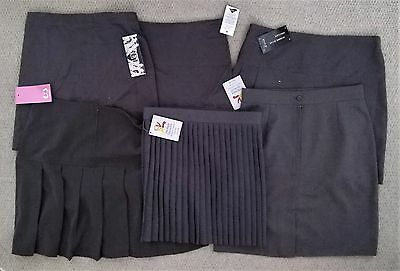 Grey Pleated & Unpleated School Skirt Various Styles & Ages - New With Tags