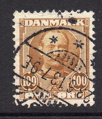Denmark 100 Ore Stamp c1907-12 Used