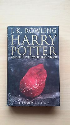 RARITÄT! Harry Potter 1 and the Philosopher's Stone 1. Auflage Adult Edition