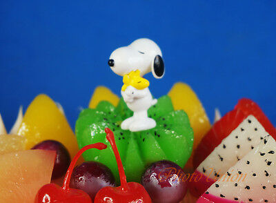 Peanuts Snoopy and Friends Woodstock Cake Topper Figure Model Decoration K1267 D