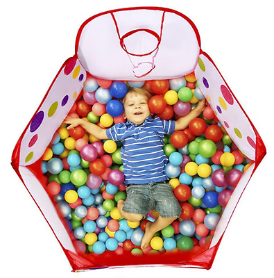 Baby Ball Tent Toy Stages Learn Laugh Fun Toddler Kids Boys Girls Educational