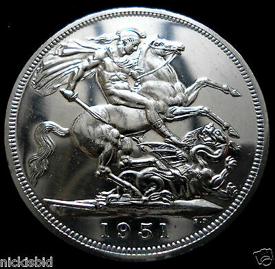 1951 Festival Crown - Proof Like Finish - Boxed With Coa - Burgundy Or Green