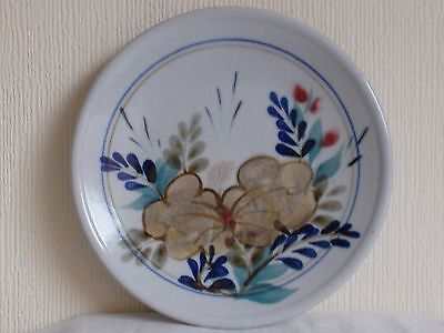 Highland Stoneware Wall Plate Floral