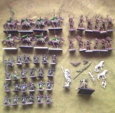 WARHAMMER Wood elf wanderers army led by Orion