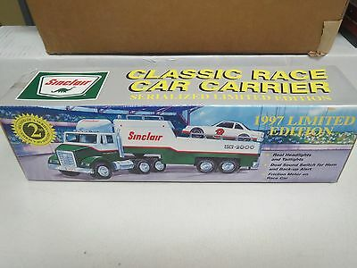 Sinclair Classic Race Car Carrier 1997 Limited Edition-New