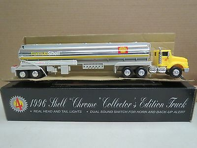 Shell 1996 Chrome Collector's Edition Tanker Truck