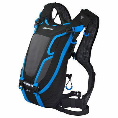 New Shimano UNZEN Endurance Day Pack w/o Hydration 4 Litre Black/Lightning Blue