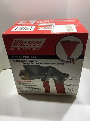 Wal-Board Tools Texture Pro 200 Hopper Gun Made In USA NIB