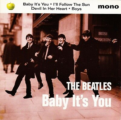 "The Beatles - Baby It's You / I'll Follow The Sun + 2 EP - 7"" UK Vinyl 45 - New"