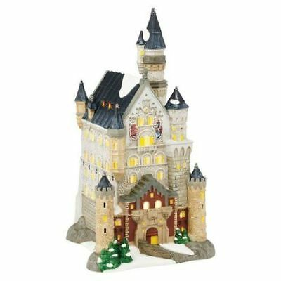 New Dept56 Neuschwanstein Castle