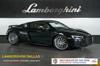 2017 Audi R8 Plus Coupe 2-Door 203K+MSRP!+NAV+RR CAMERA+S -TRONIC+CC BRAKES+BANG & OLUFSEN+DIAMOND LEATHER