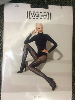 WOLFORD Pippa tights - Size S - Black