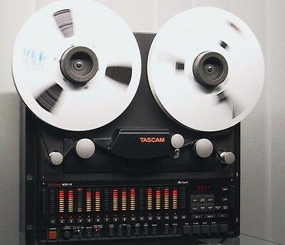 Tascam Msr-16 1/2Inch / 16Track Recorder In Excellent Condition!!!!!!!!