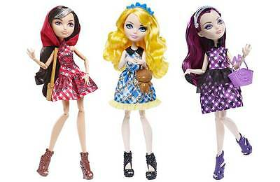 Ever After High Enchanted Picnic Doll *Cerise Hood *Blondie Lockes *Raven Queen