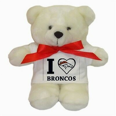 """I Love Broncos"" Teddy Bear"