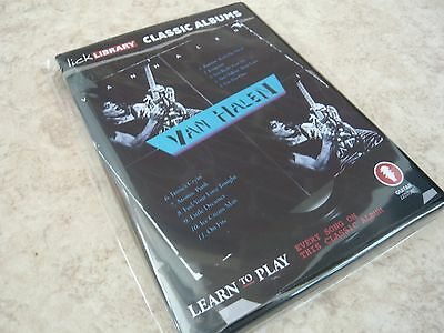 Lick Library - Learn to Play - Van Halen - Classic Albums - New/Sealed