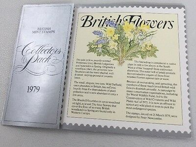 1979 British Collectors Pack Booklet- No Stamps Just Info 99P