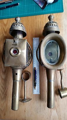 Carriage lamps - a matching pair