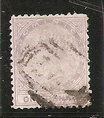 DOMINICA 1874  1s  SG1 used