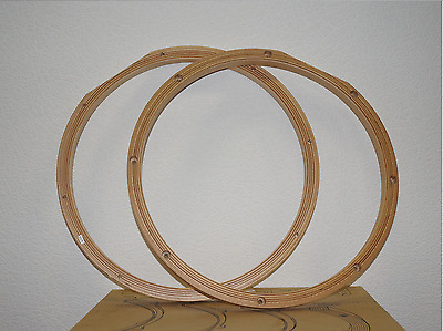 """YAMAHA VH1408T Wood Hoop, 14"""" with 8 holes, only top 1pcs. Rare!"""