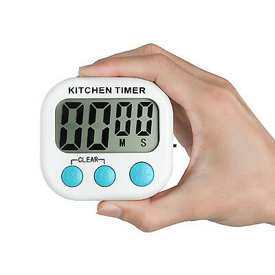 Home Digital Kitchen Timers LCD Display Alarm Countdown Cooking Baking Tools 1PC