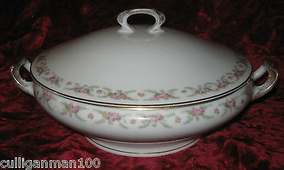 1 - Hermann Ohme Covered Vegetable Dish circa 1900 to 1920  (2017-073)