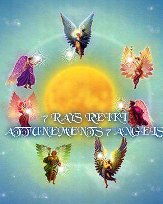 7 ANGELS Powerful spell for love, money and protection ,cleanse bad energies