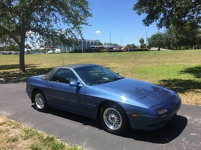 1989 Mazda RX-7 COLLECTABLE 1989 MAZDA RX 7 CONVERTIBLE - 76K VERIFIED  - ROTARY ENGINE* GREAT INVESMENT!!