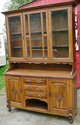 Oak Welsh Dresser. Edwardian.