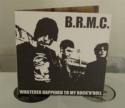 "B.R.M.C. - Whatever Happened To My Rock'N'Roll - 2001 UK 7"" - Gatefold Sleeve"