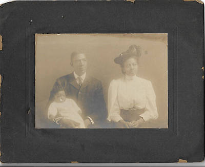 Black Americana Cabinet Photo African American Family