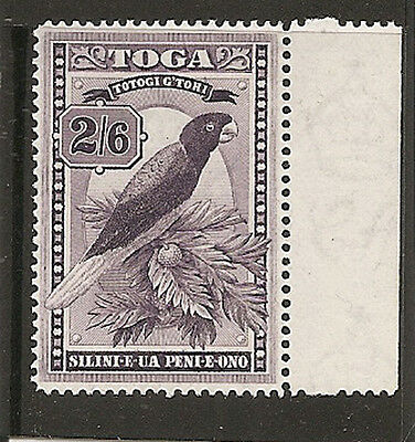 TONGA 1943  2s 6d  SG81 lightly mounted mint