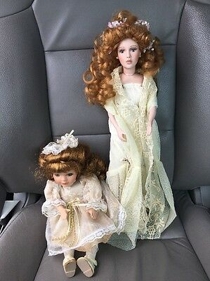Lacey by Rhonda Shear + Dandee Collector's Choice - Musical Porcelain Doll Lot