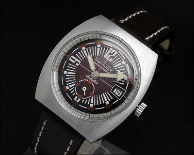 LIMITED OFFER! New Old Stock Diver Style THERMIDOR mechanical vintage watch NOS