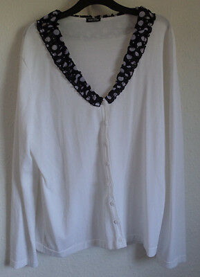 Ladies Gerry Weber White Cardigan size 16
